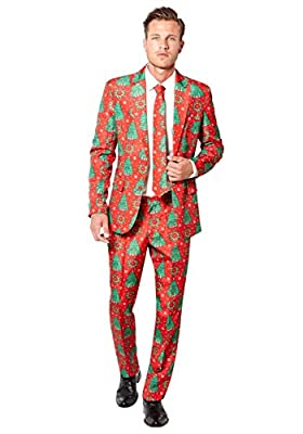 Opposuits Mens Christmas Trees Suitmiester Suit