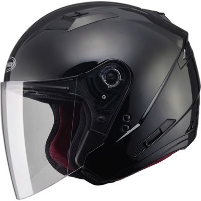 (GMAX Unisex-Adult Style G3770029 Of77 Open Face Helmet Black 3xl)