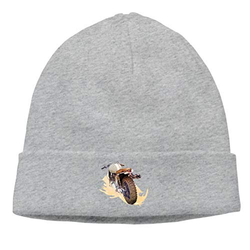 (Warm Beanie Hats Triumph Motorcycles Unisex Knit Skull Cap Gray)