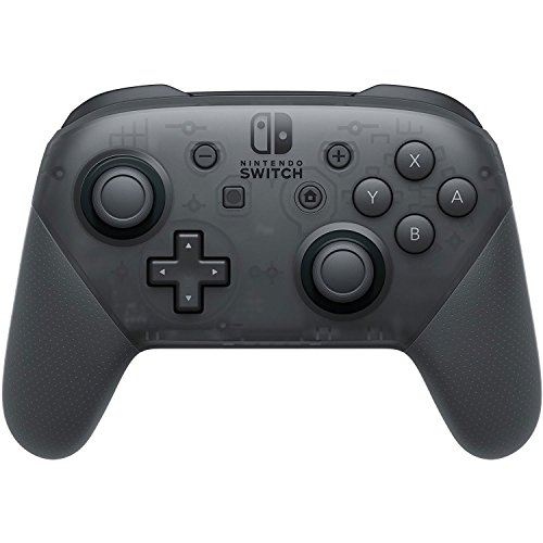Nintendo Switch Pro Video Game Gaming Controller, Black (Renewed)