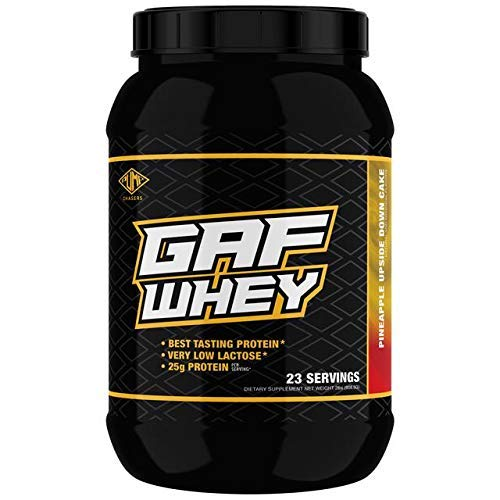 GAF Whey Pineapple Upside Down Cake