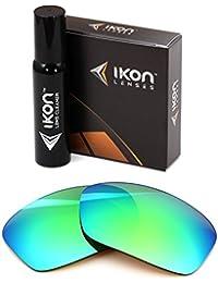 Polarized Ikon Iridium Replacement Lenses for Oakley Turbine Sunglasses - Multiple Options