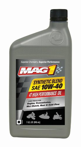 mag-1-62971-10w-40-4t-synthetic-blend-four-stroke-atv-oil-1-quart-bottle-pack-of-6