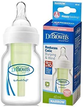 Dr Brown/'s Preemie bouteille │ nouveau né /'S Anti Colique biberon │ 60 ml