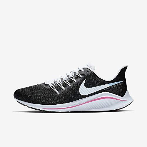 Nike Women's Air Zoom Vomero 14 Running Shoe Black/Hyper Pink/Football Grey Size 8 M US