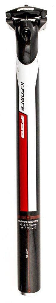 FSA k-forceライトsb0 di2バイクシートポスト31.6 MM x 350 mmカーボンモノラルブラック新しい B075JPK2DW