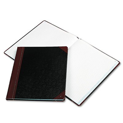 Boorum & Pease : Columnar Book, Black Cover, 150 Pages, 12 1/4 x 10 1/8 -:- Sold as 2 Packs of - 1 - / - Total of 2 Each