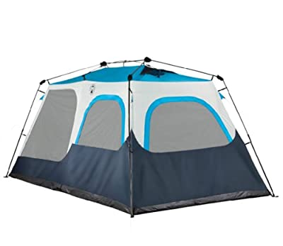 NEW! COLEMAN 8 Person Instant Tent 2 Rooms Waterproof Family Camping - 14' x 8'
