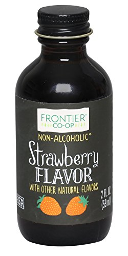 - Frontier Natural Products Strawberry Flavor A/F, 2-Ounce