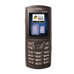"""Samsung E2152 - Teléfono móvil (5,08 cm (2""""), 128 x 160 Pixeles, TFT, 7 MB, 2 GB, 640 x 480 Pixeles) Marrón"""
