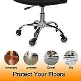 Office Chair Caster Wheels Set of 5 Heavy Duty