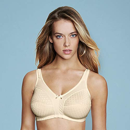 5360 B46 Beige Dominique Cotton Blend Soft Cup