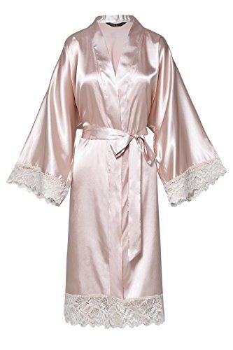 Nude Kurz Pink Vestaglia donna ArtiDeco aBwqT6S