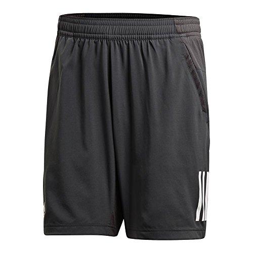 Mens Club Short (adidas Men's Tennis Club 3 Stripes Short, Bold Onix, XX-Large)