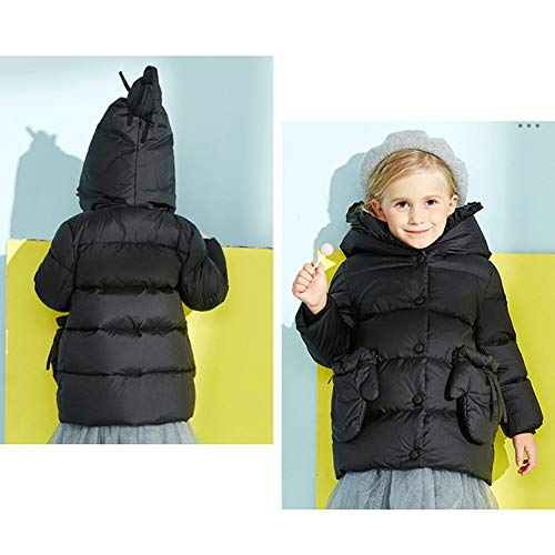 Black Duvet hodc Et À Pour Manteau Couleur Enfant D'hiver D'épaisseur Bébé Capuchon Yz De En Doux Unie Style TBWH4Hxnp