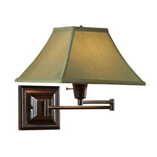 Sage Kingston Swing arm Pin up Lamp, SAGE, (19 Inch Swing Arm Lamp)
