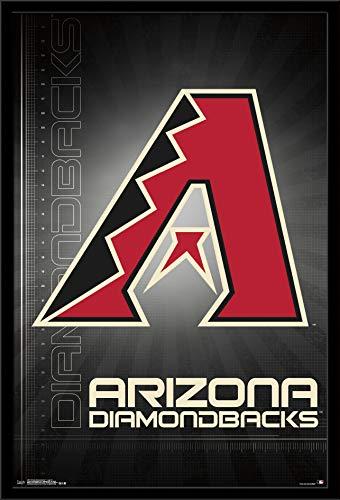 Trends International Arizona Diamondbacks - Logo Wall Poster, Multi (Arizona Diamondbacks Framed Wall)