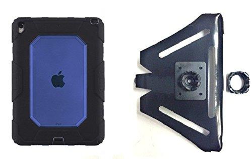 SlipGrip 22 mmボール互換ホルダーDesigned for Apple iPad Pro 10.5インチタブレットGriffin Survivor all-terrainケース B0786ST8QV