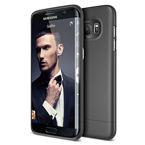 - Galaxy S7 Edge Case, Maxboost [Vibrance Series] Protective Slider Case for Samsung Galaxy S7 Edge Soft-Interior Scratch Protection with Vibrant Color - Black/Black