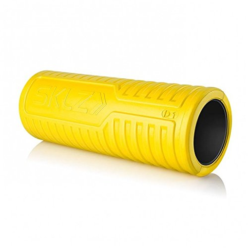 SKLZ Barrel Ultra Durable Massage Roller, Soft, Yellow