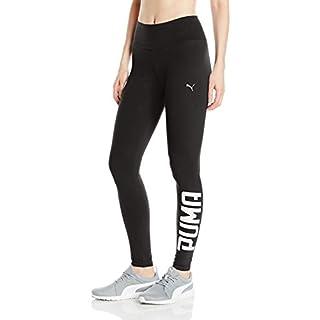 PUMA Women's Swagger Leggings, Black White, S