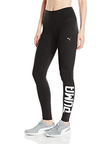 PUMA Women's Swagger Leggings, Black White, M - Puma Tights