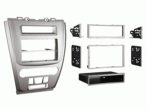 Metra 99-5821S Single or Double DIN Installation Dash Kit for 2010 Ford Fusion and Mercury Milan, ()