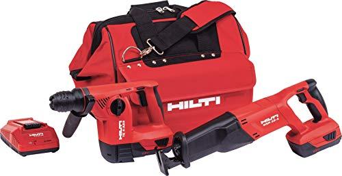 Hilti 3487032 18-Volt Lithium-Ion Cordless Drill Driver/Impact Driver Compact Combo Kit (Hilti Tool Kit)