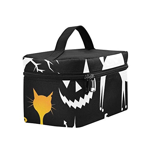 Funny Halloween Characters Lunch Box Tote Bag Lunch Holder Insulated Lunch Cooler Bag For Women/men/picnic/boating/beach/fishing/school/work