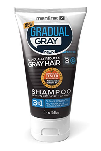 MenFirst Gradual Gray Reducing SHAMPOO product image
