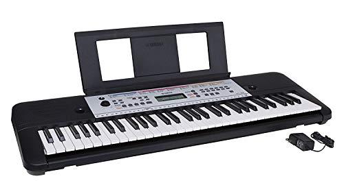 Yamaha YPT260 61-Key Portable Keyboard with Power Adapter (Amazon-Exclusive) (Renewed) (Yamaha Keyboard 61 Keys)