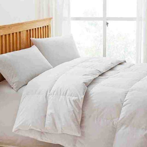 -[ LUXURY GOOSE FEATHER AND DOWN DUVET QUILT 13.5 TOG DOUBLE  ]-