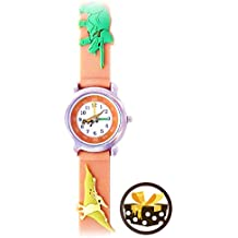 T-Rex and Friends (Khaki) Boys Time Teacher Waterproof Dinosaur Watch - Gone Bananas Kids Watches