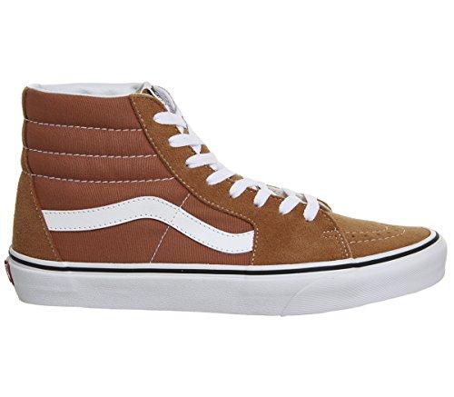 Hi Vans Glaze True Unisex Trainer Orange Suede White SK8 Autumn rZwEnxBZq