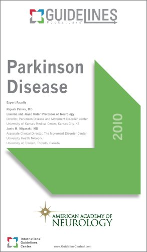 Parkinson Disease GUIDELINES Pocketcard: American Academy of Neurology (2010)