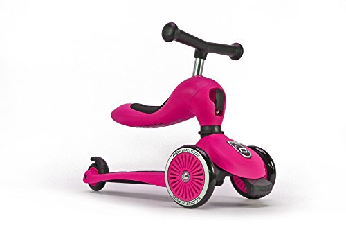 Scoot and Ride Highwaykick 1 Scooter and Ride On Toy (Pink)