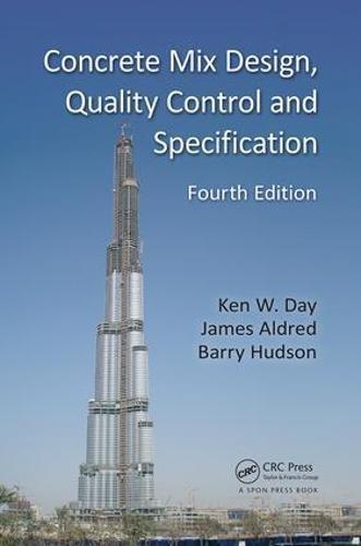 Concrete Mix Design - Concrete Mix Design, Quality Control and Specification