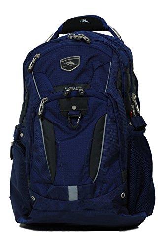 High Sierra Elite Business Backpack Blue Fits 17'' Laptop Cu