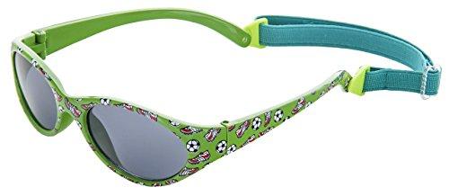 Sonnenbrille für Kinder Jungen und Mädchen | 2 bis 5 Jahren | VOLLSTÄNDIG FLEXIBLEM Gummi | 100% UVA- und UVB-Schutz | sicher, bequem und widerstandsfähig | ideales Geschenk Kiddus Comfort