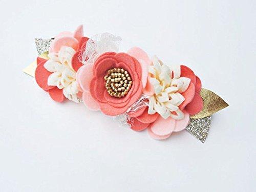 Amazon.com  Felt Flower Crown cc1951720b8