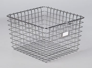 metal lockers with baskets - 7