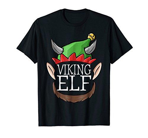 Viking Elf T-Shirt Christmas Funny Elves Men Gift (Blood Elf Shirt)