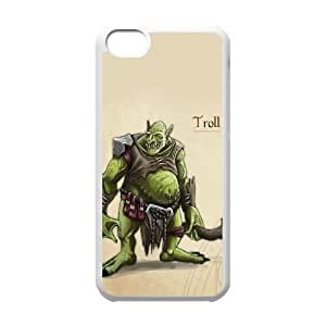 Personalized Durable Cases Cccpg Ipod Touch 6 Cell Phone Case White troll age of wonders iii game Protection Cover