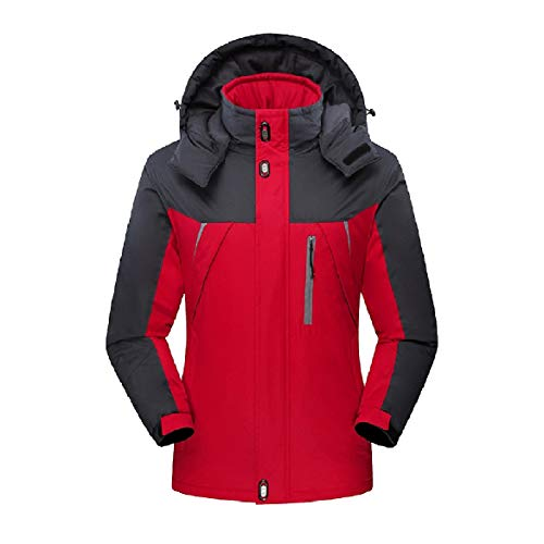 Zip Outwear Men Fleece Red Full Jacket Howme Waterproof Active Warm Down gxtSnqw1
