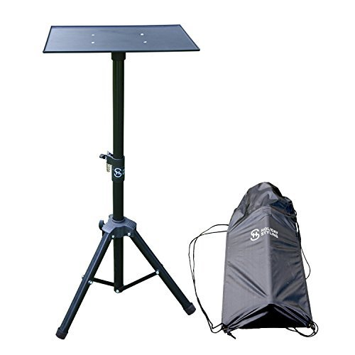 Laptop Projector Tripod Stand - Adjustable Table with Sturdy Base - Portable Set with Storage Bag 30