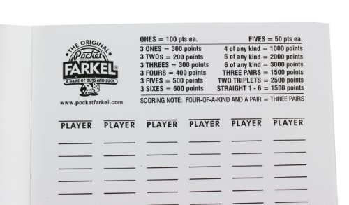Farkle Scoring Chart Printables,Scoring.Printable Coloring Pages