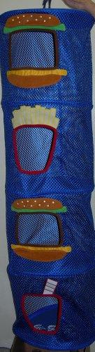 Bunk Junk Junk Food Mesh Space Saver/ Organizer Suitable for Home, Sleepaway, Travel , Camp, Sleep Away Camp