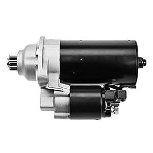 Motor de arranque 1,8 KW AUDI A2; AUDI A3; FORD GALAXY; SEAT ALHAMBRA; AROSA; CORDOBA + HATCHBACK+ VARIO; IBIZA 2 II; IBIZA 3 III; SEAT IBIZA 4 IV; LEON 1M1; TOLEDO 1 I; TOLEDO 2 II; SKODA FABIA 6Y2 + COMBI + BERLINA; OCTAVIA 1U2 + COMBI ; VW BORA 1J2 + FAMILIAR; CADDY 2 II VAN + FAMILIAR; GOLF 3 III+ CABRIOLET + VARIANT; GOLF 4 IV + CABRIOLET+ VARIANT; LUPO 6X1,6E1; NUEVO