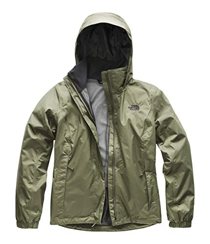 Green Raincoat - The North Face Women's Resolve 2 Jacket Four Leaf Clover Large