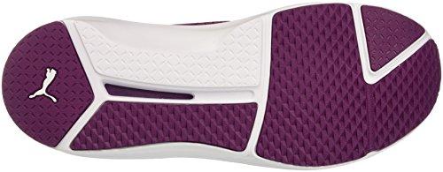 Magenta Puma Bianco Sneaker Quilted Fierce Purple 77wZzt